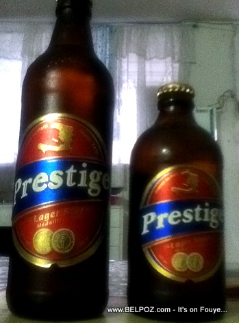 Big Brother Prestige - Haiti Prestige Beer, Now in a Bigger Bottle