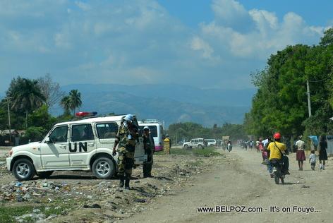 Hinche Haiti Airport Perimeter