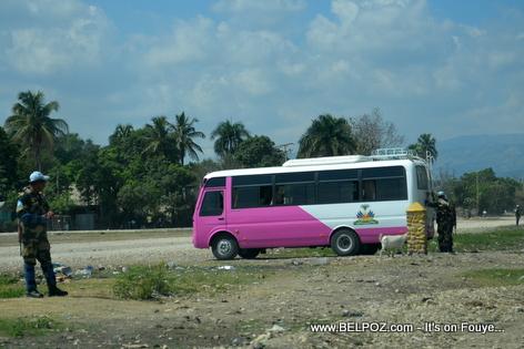 Aeoport Hinche la Sekirize, President Martelly pwal ateri