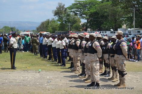 President Martelly - Arrival in Hinche Haiti