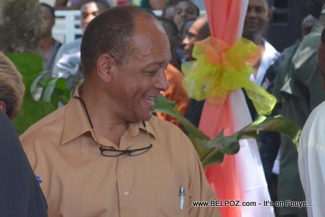 Georges Garnier - INAMUH Inauguration - Pandiassou Haiti