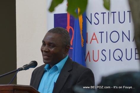 Emmanuel Philippe, Majistra Hinche la, nan Inauguration INAMUH - Pandiassou Haiti