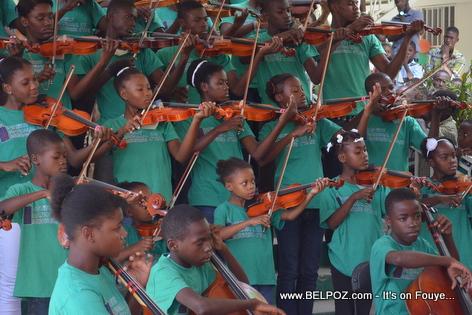 Inauguration Institut National de Musique d'Haiti - Pandiassou