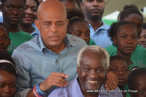 President Martelly, Frere Armand, Inauguration INAMUH  - Pandiassou HAiti
