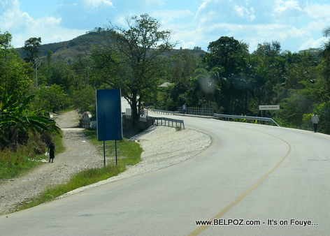 Thomonde Bridge, Route Nationale No 3, Thomonde, Centre, Haiti