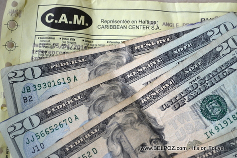 CAM Money Transfer - Haiti