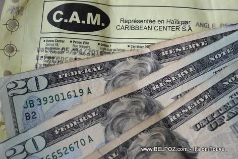 CAM Money Transfer - Haiti