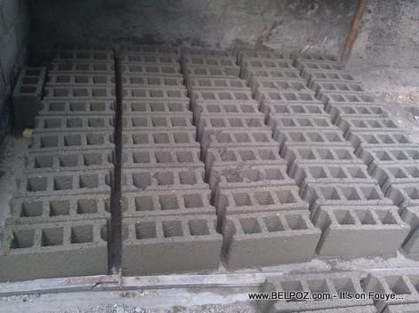 Haiti - Concrete Blocks - Concrete masonry units