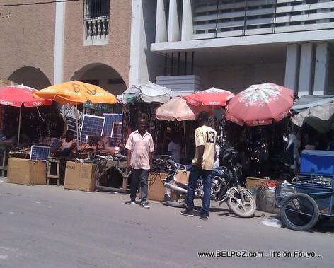 Haiti - Anba la ville la, Bo Cathedrale, pou tout bezwen telephonique ou