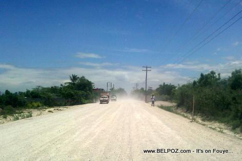 Haiti - Road Construction - Route nationale No 8, Ganthier