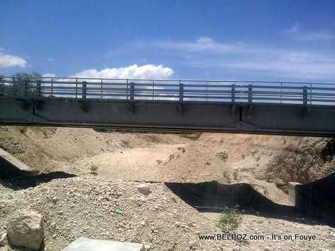 Haiti - Fond Parisien - New Bridge Being Built - Route Nationale No 8