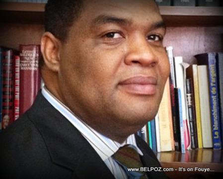 Michel Pierre Brunache, Porte-parole Haiti Premier ministre Lamothe
