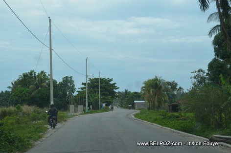 The Road to Gelee Beach - Les Cayes Haiti