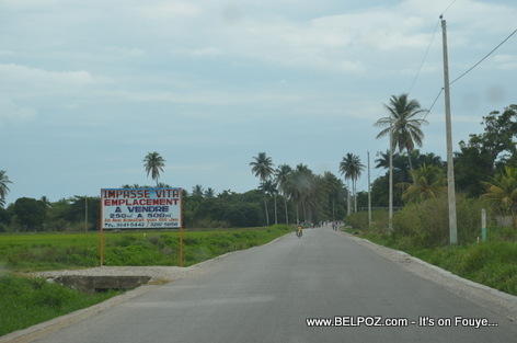 Land for sale near Gelee Beach in Les Cayes Haiti