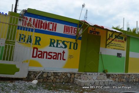 Banboch Hotel Bar Resto - Gelee Beach - Les Cayes Haiti
