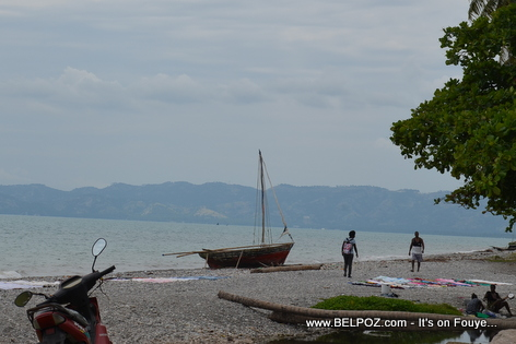 Baie des Cayes - View from Gelee Beach - Les Cayes Haiti