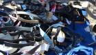 Haiti - Ceinturon pepe pou vann nan marche Gonaives