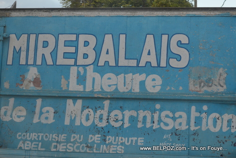 Haiti - Mirebalais l'heure de la modernisation