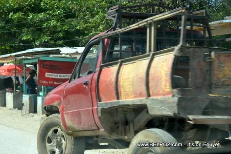 Haiti - Transport Pickup Truck