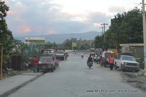 Mirebalais Haiti, Rond-Point Hinche-Lascahobas