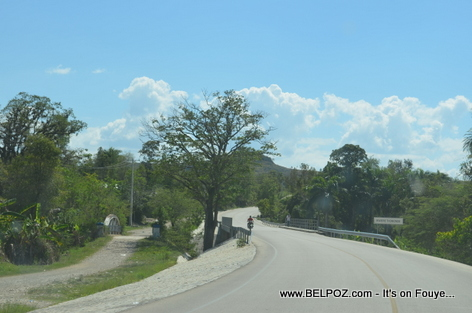 Thomonde Bridge, Route Nationale No 3, Thomonde Haiti