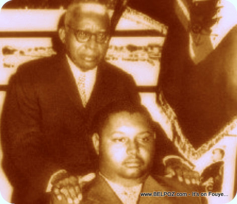 Papadoc and Babydoc - Francois Duvalier and Jean-Claude Duvalier