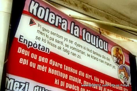 Cholera Haiti - Cholera la toujou