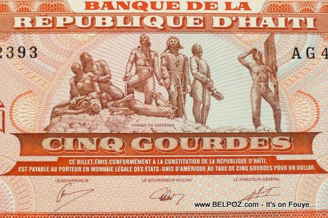 Haiti Money - 5 Gourdes