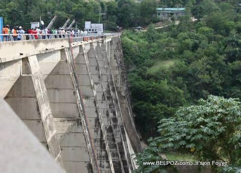 Haiti - Peligre Hydroelectric Dam