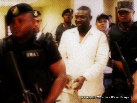 Amaral Duclona in Handcuffs