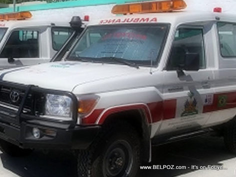 Ambulance in Haiti