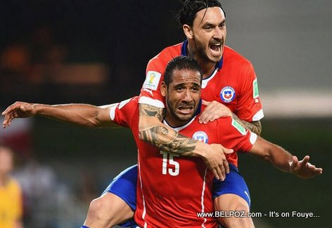 Jean Beausejour - Haitian-Chilean Soccer Player