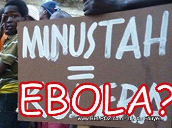 Could MINUSTAH bring EBOLA to Haiti?