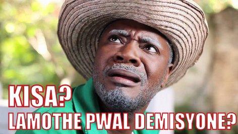 Kisa - Lamothe pwal demisyone?