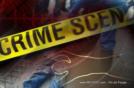 Crime Scene in Haiti