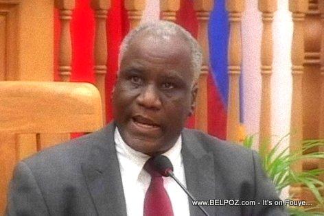 Senateur Francois Anick Joseph
