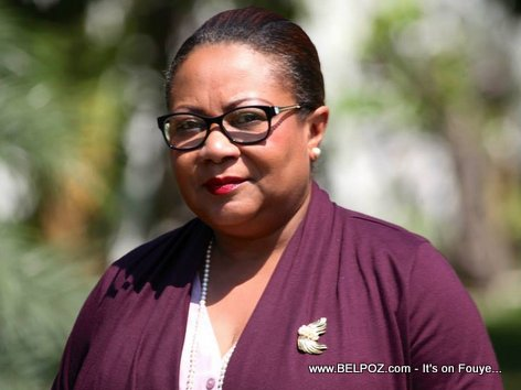 PHOTO: Florence Duperval Guillaume - Haiti ministre de la Santé publique et de la Population
