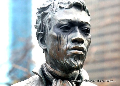 Jean Baptiste DuSable Satue Vandalized