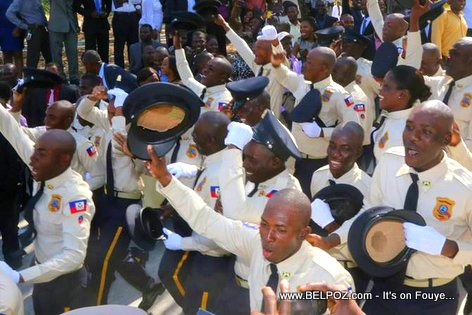 PHOTO: Haiti - New Police Graduates, 25th Promotion