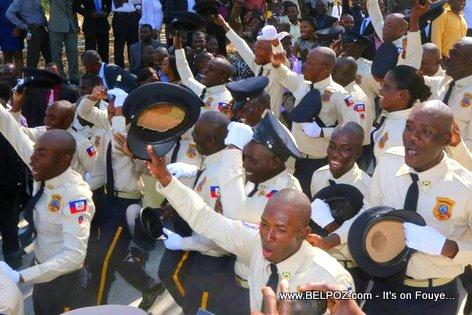 PHOTO: Haiti - New Police Graduates, 25th Promotion