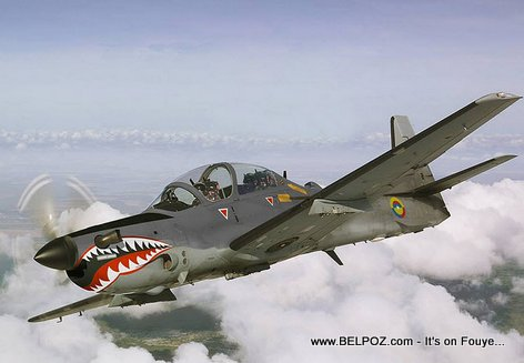 PHOTO: Military Attack Aircraft - EMB 314 / A-29 Super Tucano