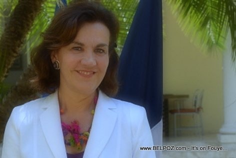 PHOTO: Elisabeth Beton - Ambassador of France to Haiti