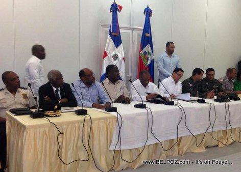 PHOTO: Haiti and Dominican Republic Meeting in Jimani 13 mar 2015
