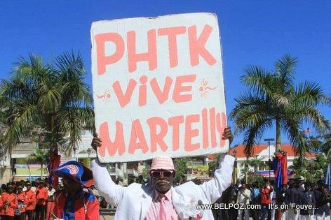 Haiti Parti Politik PHTK - Vive Martelly