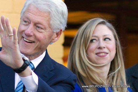 PHOTO: Bill Clinton and Chelsea Clinton