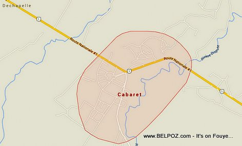 PHOTO: Map - Cabaret Haiti