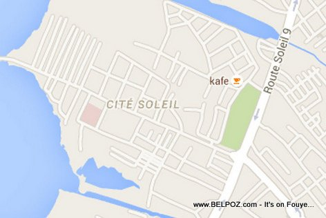 PHOTO: Cite Soleil - Haiti Map