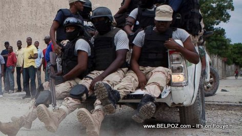 PHOTO: Haiti Police Force en Garde
