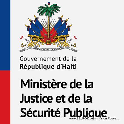 Haiti Ministère de la Justice et de la Sécurité Publique
