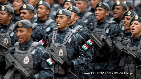 Mexican police coming to Haiti